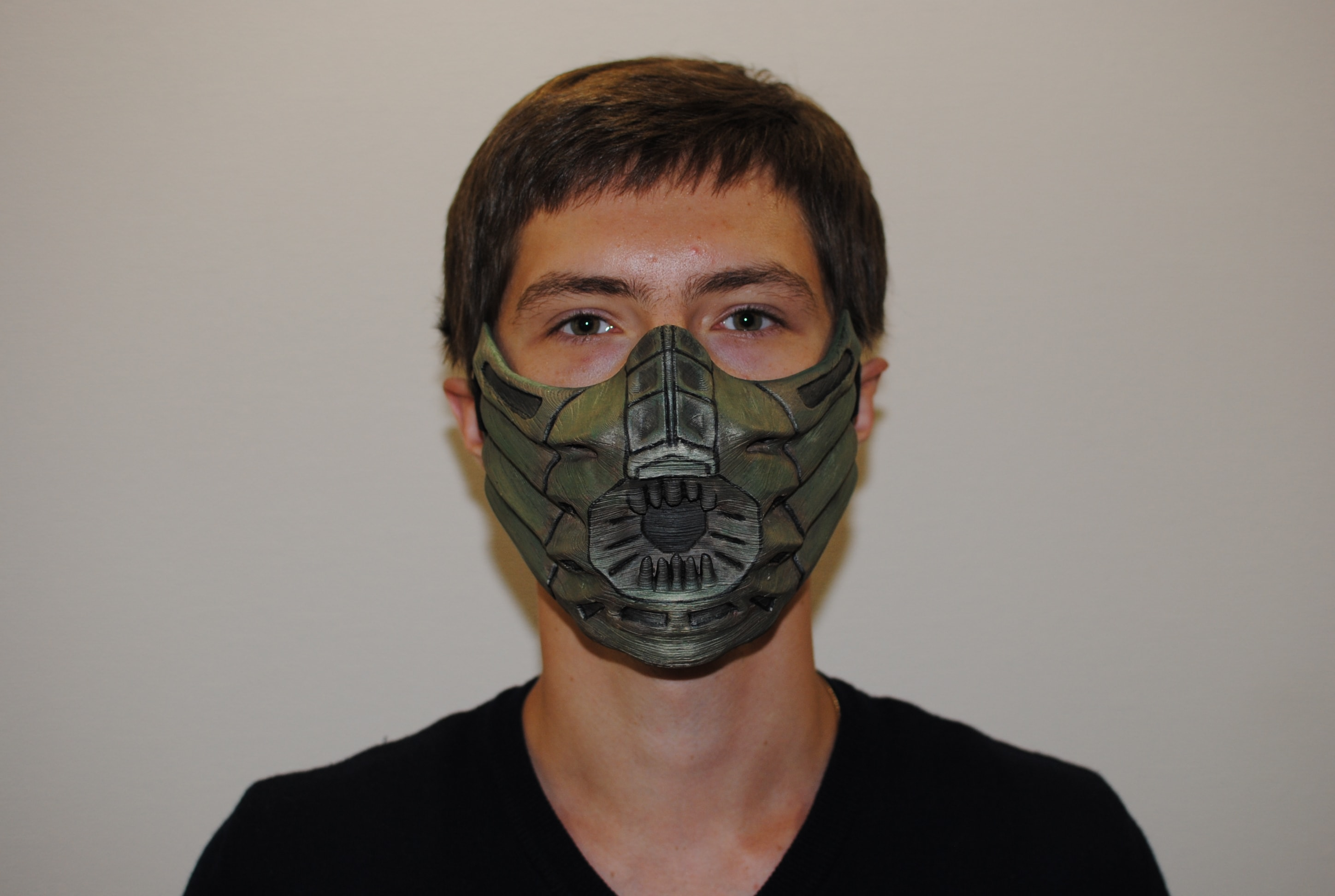 Reptile Mask From Mk Cosplay Or Airsoft Mask Costumes