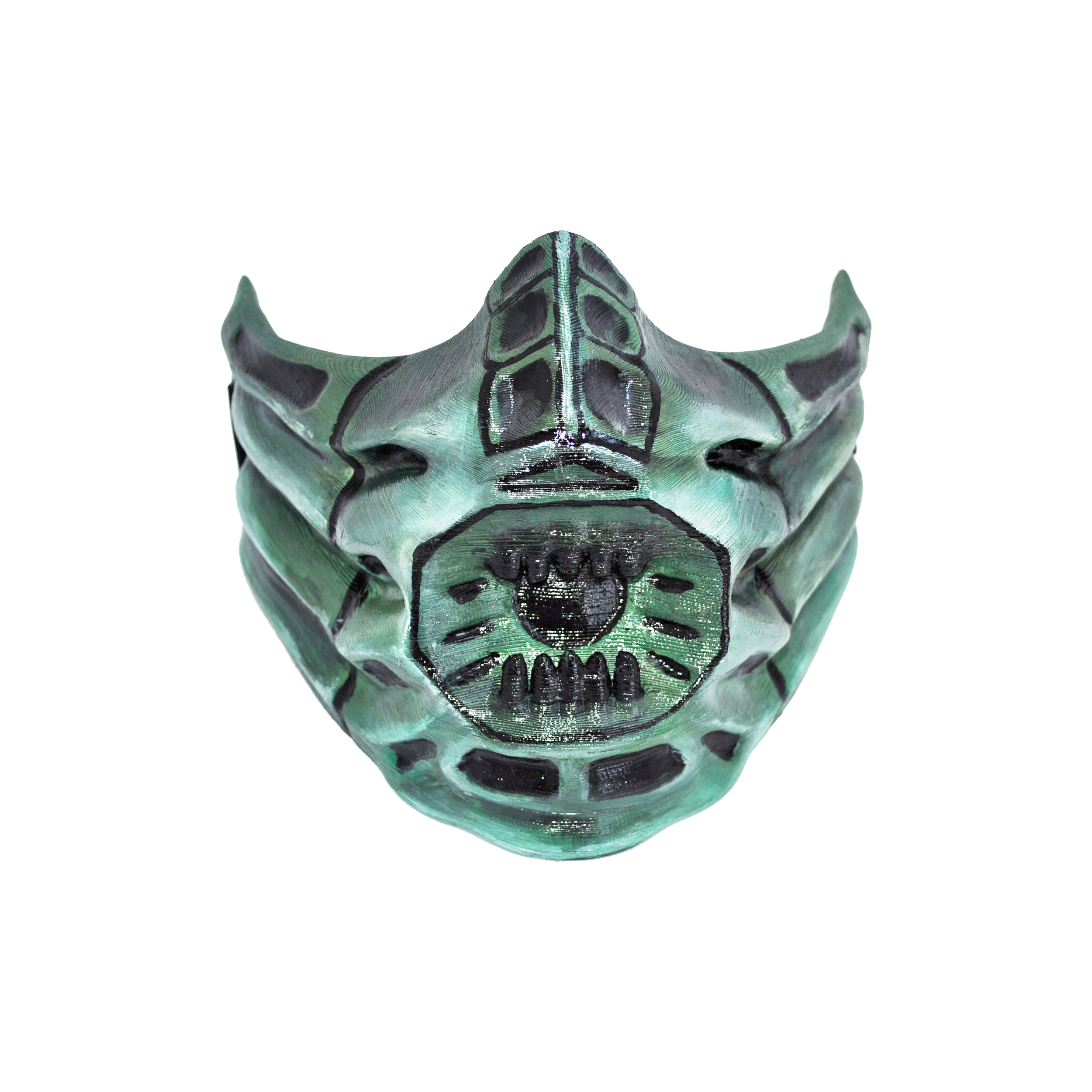 professionnel prix compétitif plus grand choix de 2019 Reptile mask from MK. Cosplay or airsoft mask