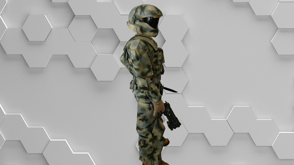 Fully finished ODST costume from Halo  Any color scheme